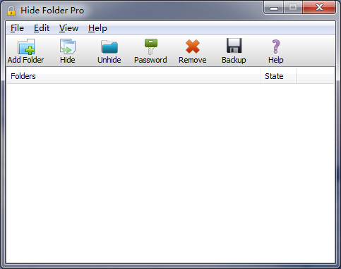 Hide Folder Pro Screenshot