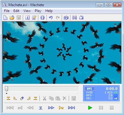 Machete Video Editor Lite Screenshot 1