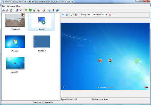 Remote Desktop Screenshot Screenshot 1