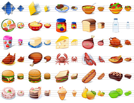 Desktop Buffet Icons Screenshot