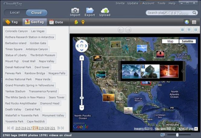 Cloudatag Media Manager Screenshot 2