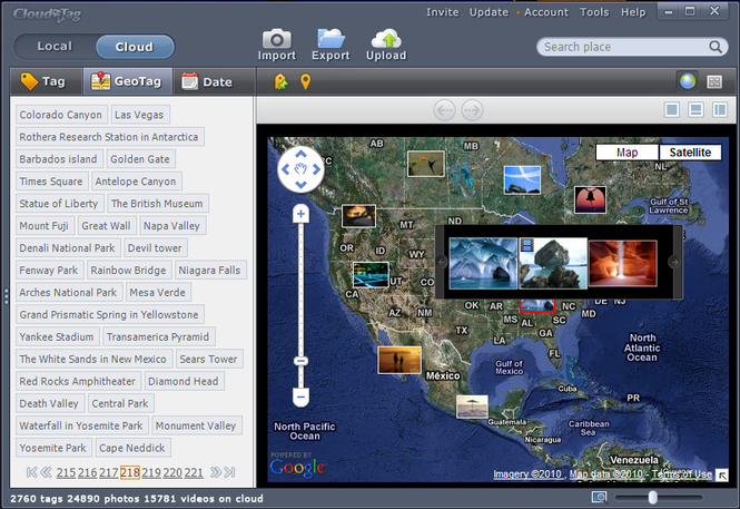 Cloudatag Media Manager Screenshot 1