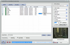bvcsoft DPG to Archos Video Converter Screenshot