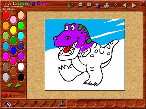 Kea Coloring Book Screenshot 1