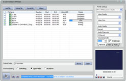 bvcsoft Video to MP3Gain Converter Screenshot