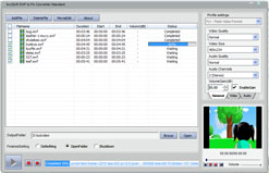 bvcsoft SWF to FLV Converter Screenshot