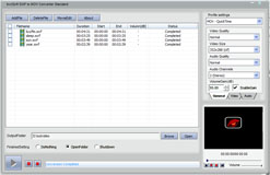 bvcsoft SWF to MOV Converter Screenshot