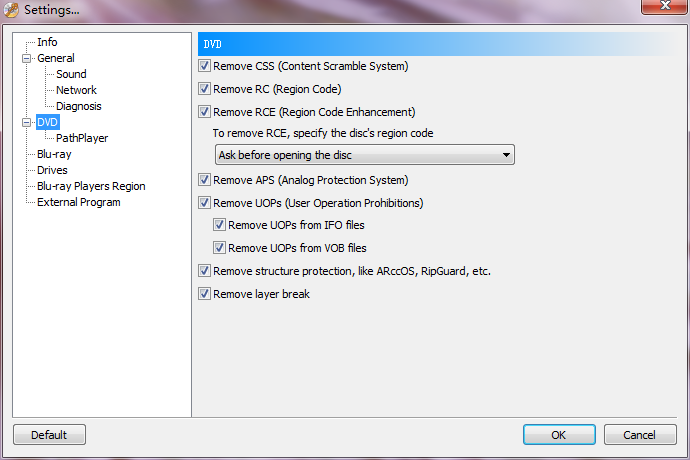 Passkey for DVD Screenshot