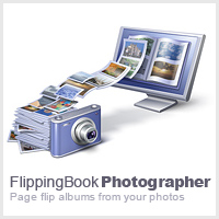 FlippingBook Photo Album Builder Screenshot