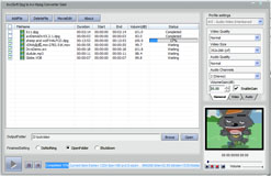 bvcsoft DPG to AVI/MPEG Video Converter Screenshot