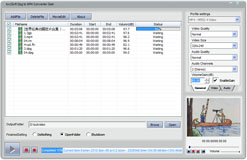 bvcsoft DPG to MP4 Video Converter Screenshot