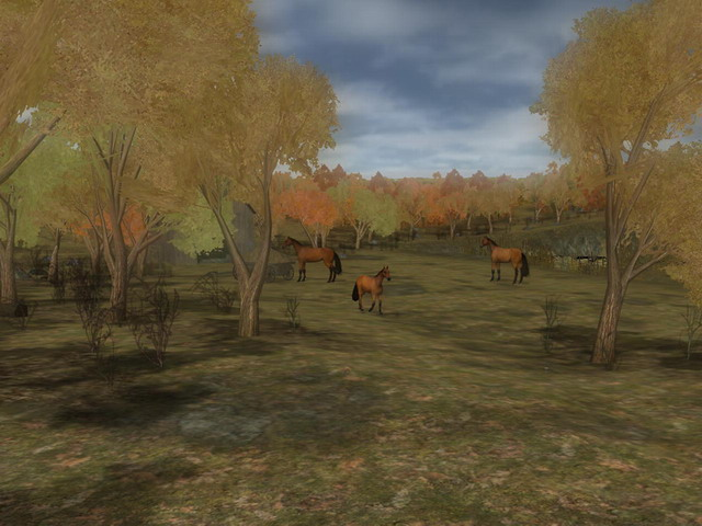 Thanksgiving Promenade 3D Screenshot