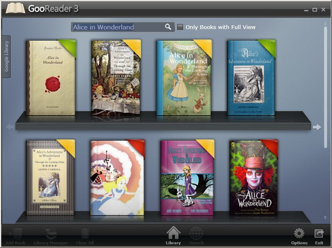 GooReader Screenshot