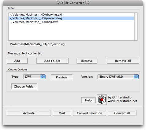 Download CAD File Converter M 3 0 for Mac Free