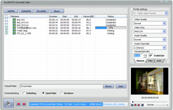 bvcsoft FLV Video Converter Screenshot