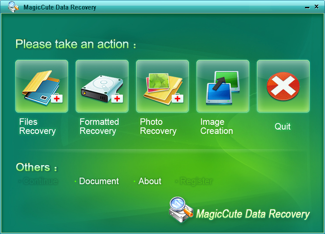 MagicCute Data Recovery Screenshot 2