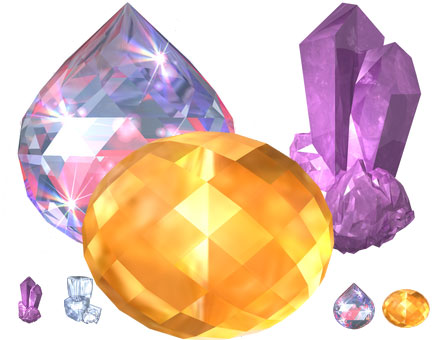 Large Crystal Icons Screenshot