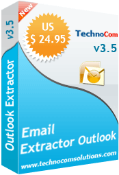 Email Extractor Outlook Screenshot