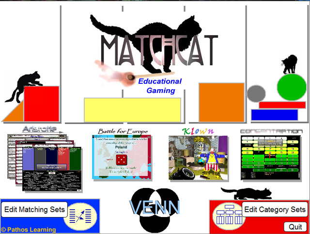Classroom Matching Smartboard Games Screenshot