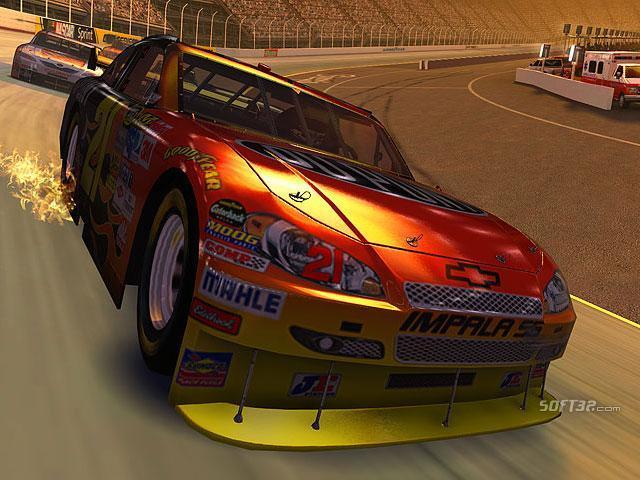 Stock Car Racing 3D Screensaver Screenshot 2