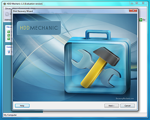HDD Mechanic Screenshot