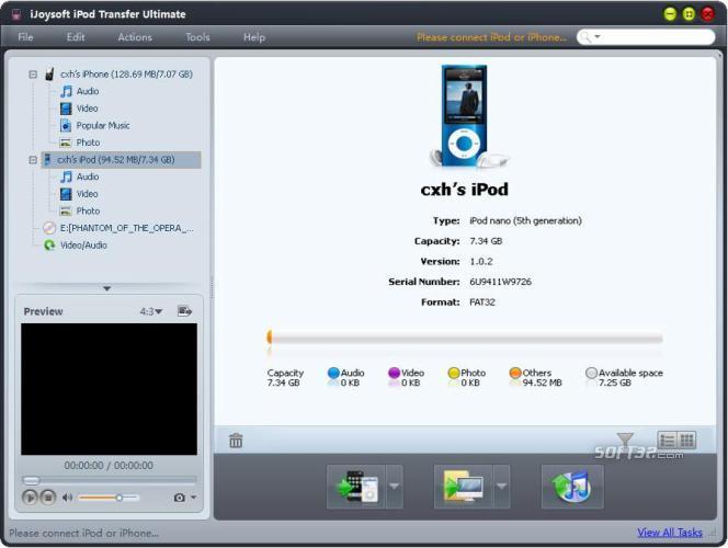 iJoysoft iPod Transfer Ultimate Screenshot 3