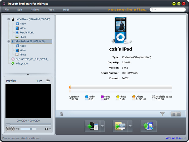iJoysoft iPod Transfer Ultimate Screenshot