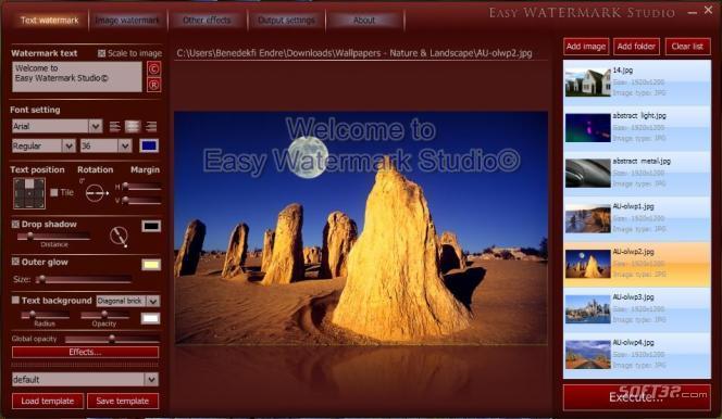Easy Watermark Studio Lite Screenshot 3