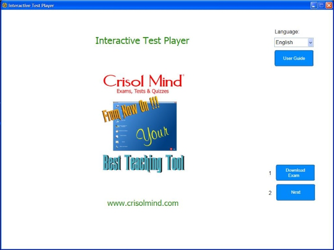 Crisol Mind Test Player Screenshot