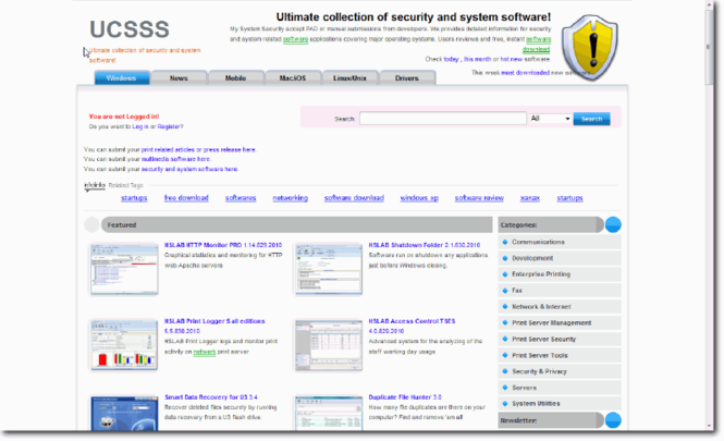 My System Security Screenshot 1