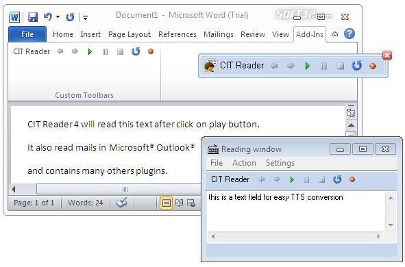 CIT Reader 4 Screenshot 2