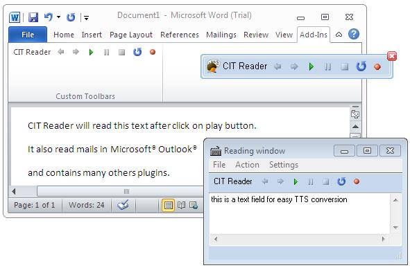 CIT Reader 4 Screenshot