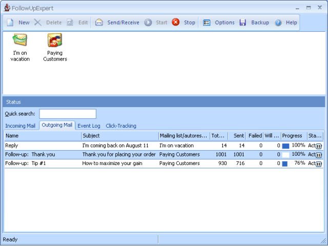 FollowUpExpert Personal Screenshot 1