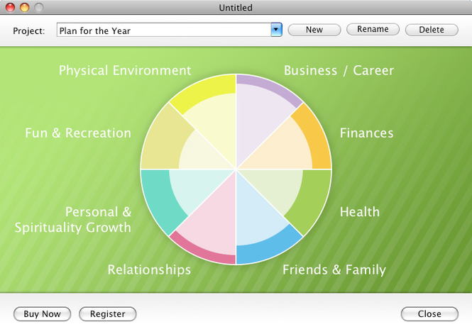 Wheel Of Life Mac Screenshot