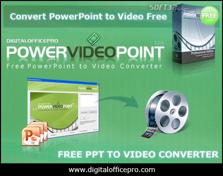 Free PowerPoint to Video Converter Screenshot 3