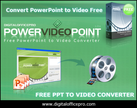 Free PowerPoint to Video Converter Screenshot 1
