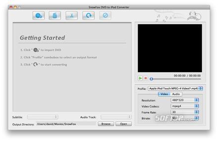 SnowFox iPod Toolkit for Mac Screenshot 3