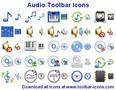 Audio Toolbar Icons 1
