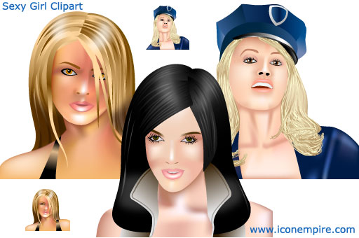 Sexy Girl Clipart Screenshot 1