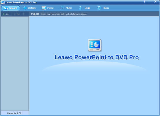 Leawo Christmas PowerPoint to DVD Pro Screenshot 1