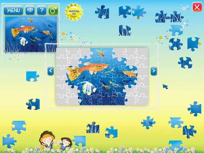 Ocean Puzzle Screenshot 3