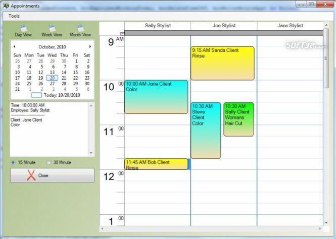 Smart Salon Appointments Screenshot 3
