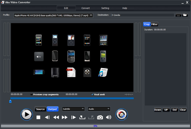 Aku Video Converter Screenshot 1