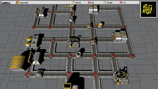 Super Car Factory Screenshot 1