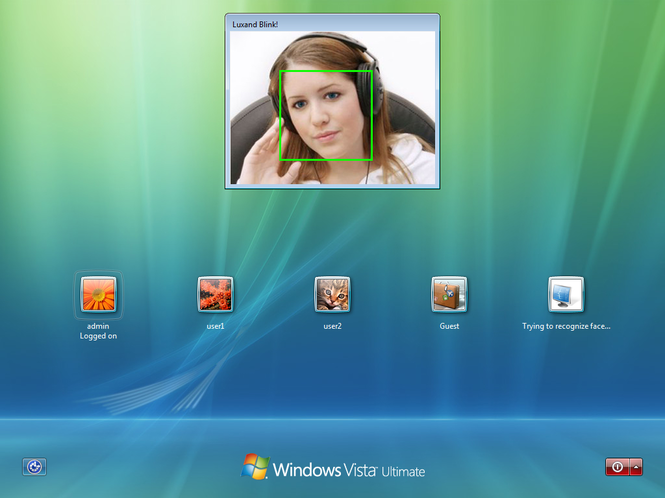 Luxand Blink! Pro Screenshot 1