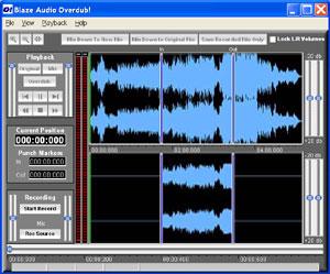Blaze Audio Overdub! Screenshot 1