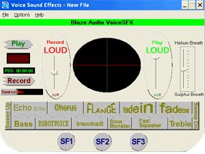 Blaze Audio VoiceSFX Screenshot
