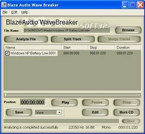 Blaze Audio Wave Breaker Screenshot 3