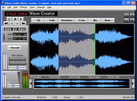 Blaze Audio Wave Creator Screenshot