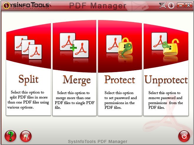 SysInfoTools PDF Manager Screenshot 1